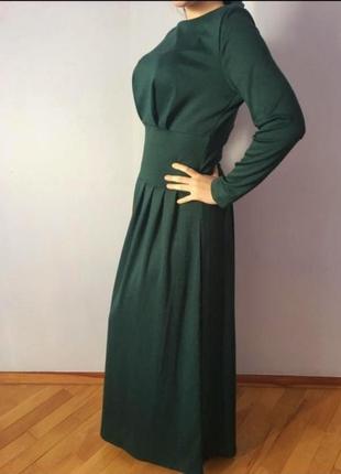 Длинное изумрудное платье zara, mango, h&m, massimo dutti, bershka