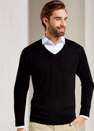 Стильный хлопковый пуловер  nobel league германия xxl++