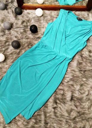 Платье с драпировкой на талии new look