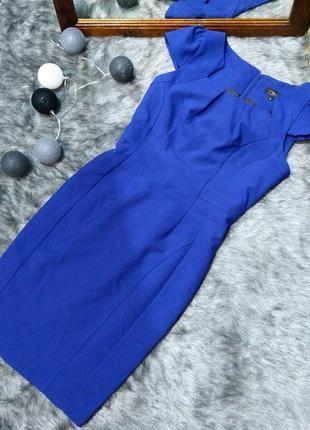 Платье футляр чехол из костюмной ткани new look