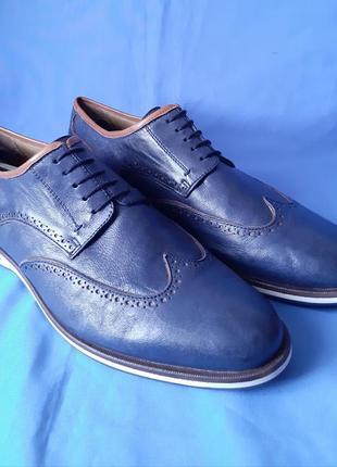 Оригинальные туфли,туфлі,броги,оксфорды италия