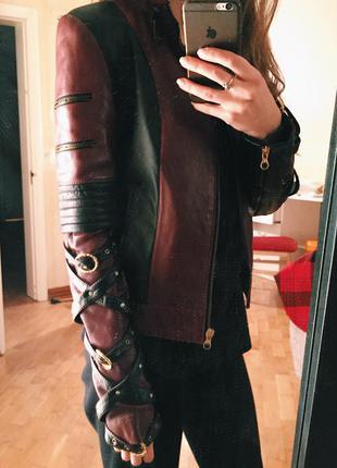 Кожаная куртка из эксклюзивной коллекции