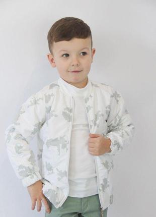 Веснянна куртка-бомбер власного виробництва