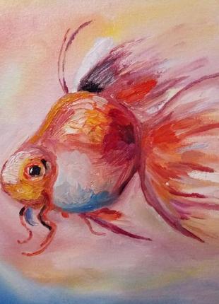 """Картина """"золота рибка"""""""