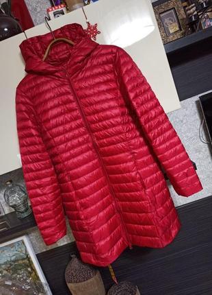 Ультра легкий невесомый ультра тонкий длинный демисезонный пуховик куртка elf sack