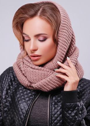 Новый шарф хомут