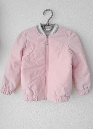 Стильна весняна курточка-бомбер, стьобана. власне виробництво