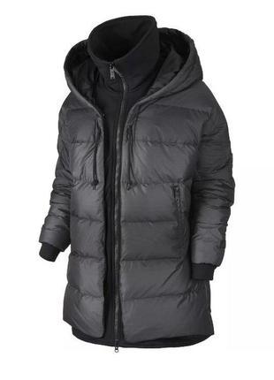 Пуховая куртка nike uptown 550 down cocoon jacket   (xs s m l)