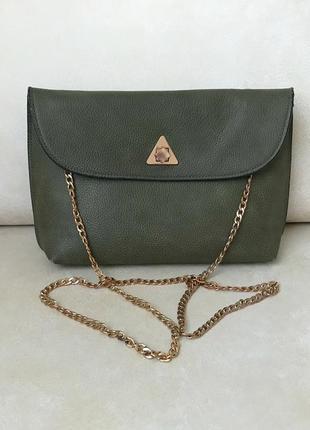 Сумка c&a оригинал сумочка на цепочке хаки