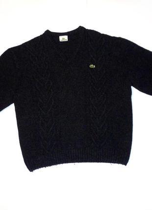 Lacoste devanlay oversize свитер светр топ кардиган свитшот футболка
