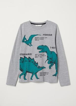 Кофта с динозаврами
