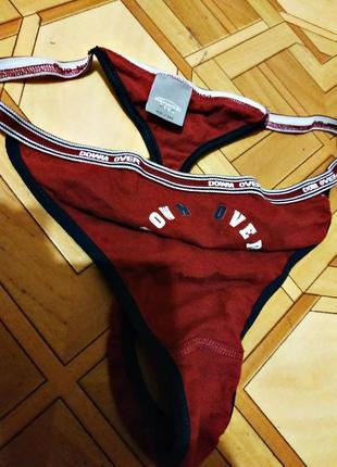 Новые брендовые спортивные трусики стринги, размер 10-12