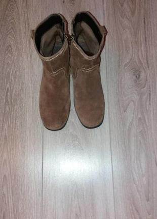 Ботинки замша footglove р.39