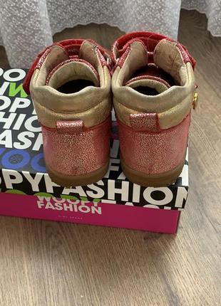 Демисезонные ботиночки woopy orthopedic