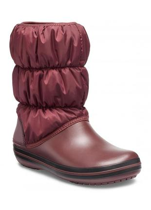 Сапоги крокс crocs winter puff boot, 37, 38, 39, 40