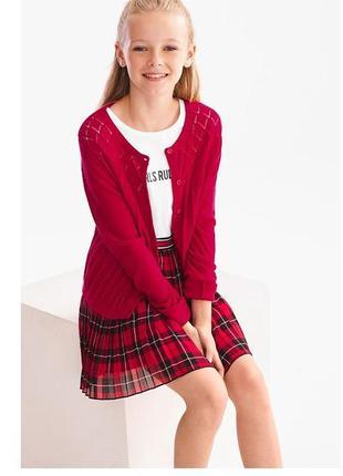 Красивый нарядный кардиган кофта для девочки