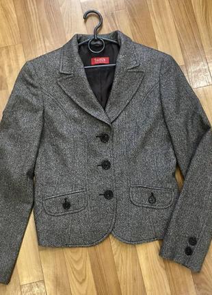 Шерстяной пиджак/ жакет в идеальном состоянии