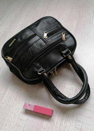 👜маленькая чёрная сумка 👜сумка органайзер