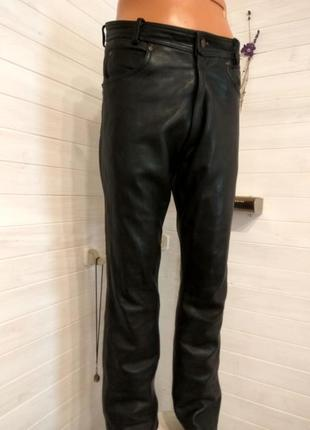 Мужские кожаные байкерские штаны held 38 р