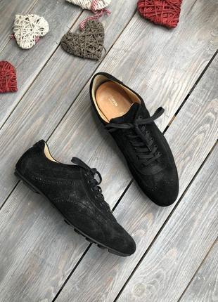 Lloyd замшевые туфли на шнуровке с серебристым кеды кроссовки