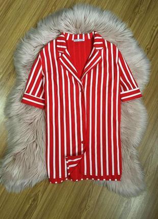 Стильная рубашка в полоску от zara