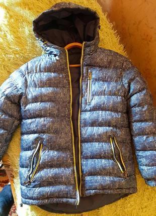 Куртка зимняя.двухсторонняя.