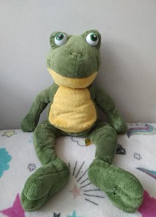 Левеня мягкая игрушка лягушка жаба