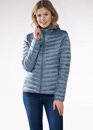 Ультралегкая стеганная термо куртка,отталкивает воду esmara укрпочта бесплатно!