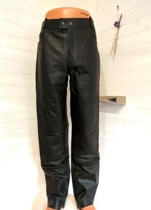 Мужские кожаные байкерские штаны louis 40 р
