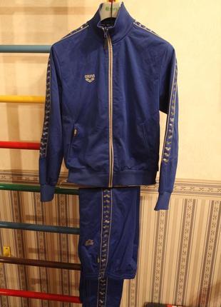 Cпортивный костюм arena trottle ful zip royal xs
