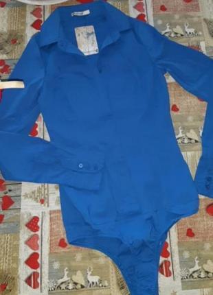 Боди- рубашка stradivariys
