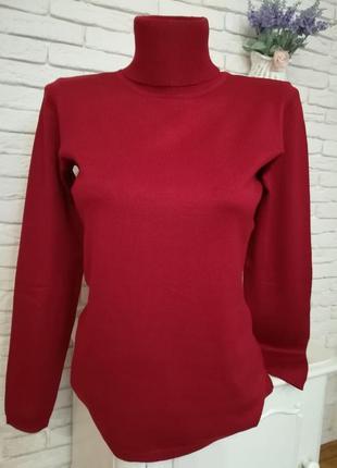 Новый вискозный свитер гольф,р.s,hallhuber