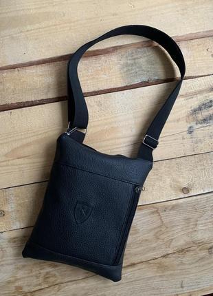Новая шикарная сумка кожа pu через плече / бананка / барсетки
