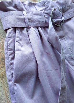 Брюки штаны с завышеной талией слоучи