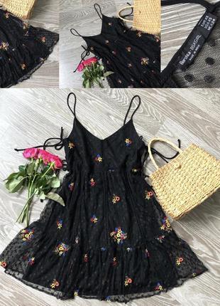 Плаття в рюші і квіти