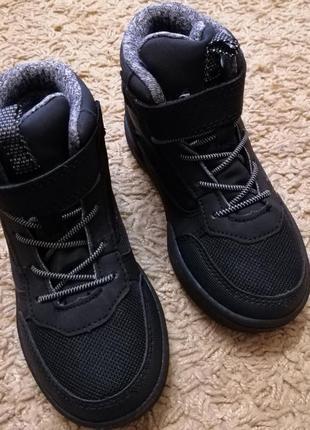 Ботинки хайтопы h&m водонепроницаемые