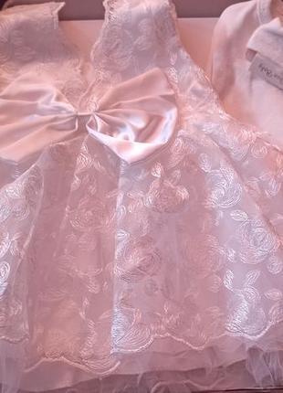 Платье на крестины