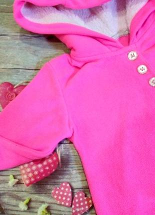 Фирменная кофта флиска george девочке 24 месяца george