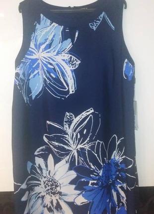 Шикарное платье принт цветы 🌺