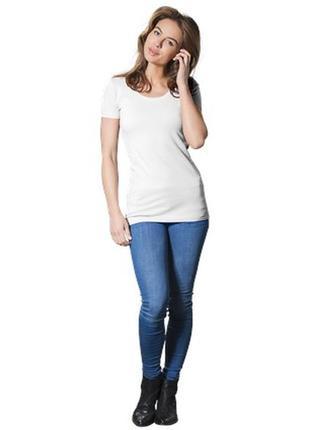 Трикотажная базовая футболка dolce bella6 фото
