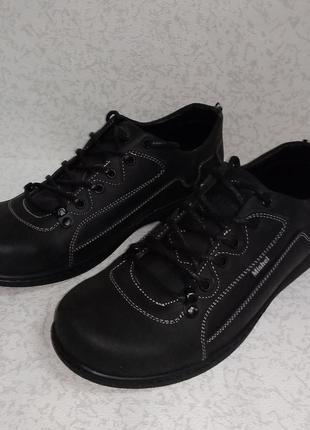 Кожаные мужские кроссовки mishel (мишель)  40р.