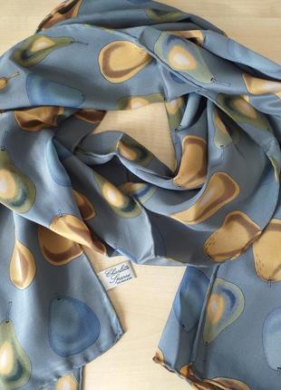 Charlotte sparre  шелковый шарф