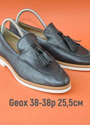 Туфли geox 38-39р 25,5см