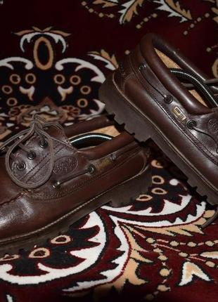 Туфли-топсайдеры le chameau gore-tex