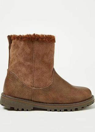 Демисезонные ботинки для мальчиков, фирма george англия
