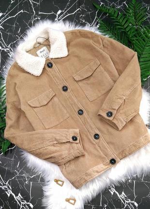 Вельветовая шерпа куртка от denim co (лимитированный выпуск)