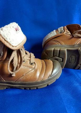 Ботинки деми chicco р.26, стелька 15,5 см