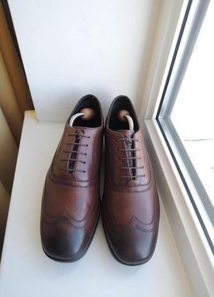Мягкие кожаные туфли mbt р.44-44,5