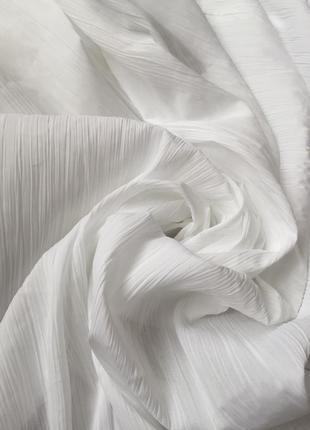 Белая тюль 320*250