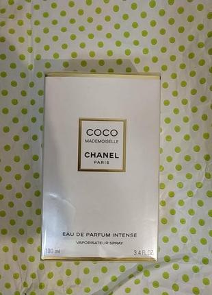 Chanel coco mademoiselle eau de parfum 100 мл